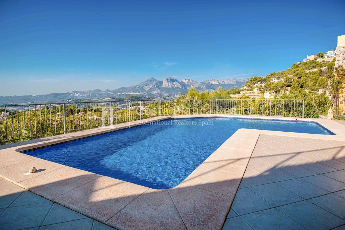 Great villa with panoramic sea views on Altea, Santa Clara - 3 - CHFi785