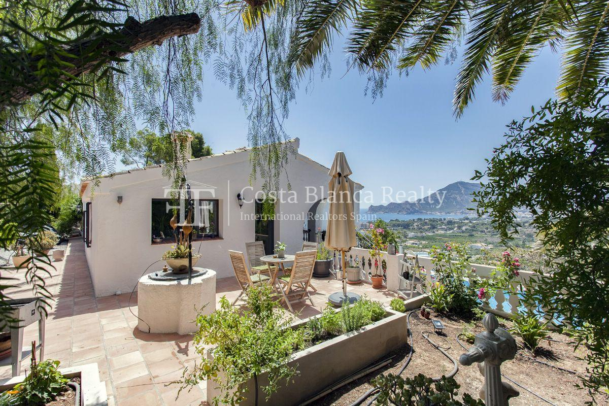 ++SOLD BY COSTABLANCA-REALTY.COM++ Villa for sale in San Chuchim in Ibiza style with panoramic sea views, Altea / Old Town - 2 - CHFi704