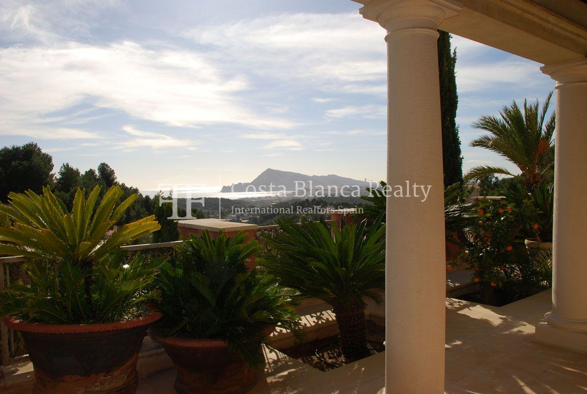 Beautiful villa in Roman style in Altea for sale, Sierra de Altea Golf - 27 - JOFi234
