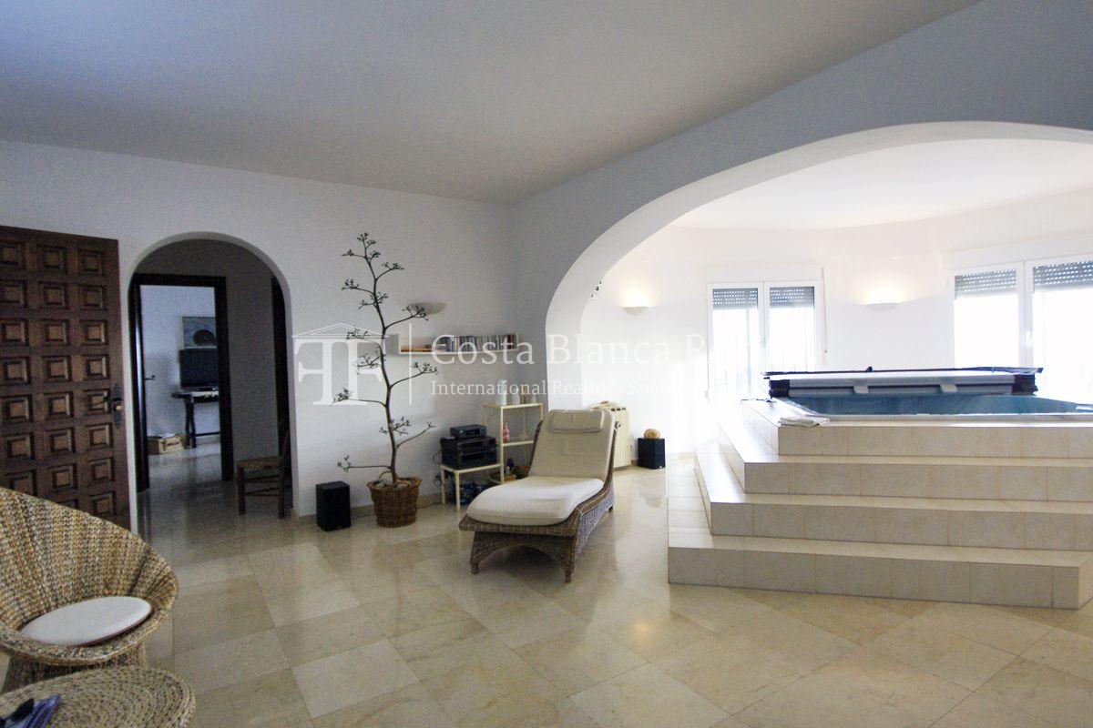 Villa for sale in Benissa with panoramic sea views on a large plot - 14 - CHFi655