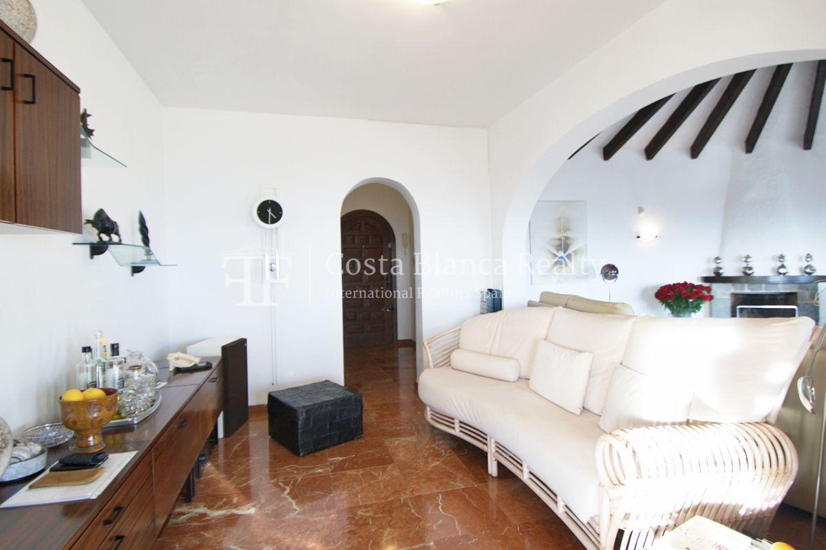Villa for sale in Benissa with panoramic sea views on a large plot - 6 - CHFi655