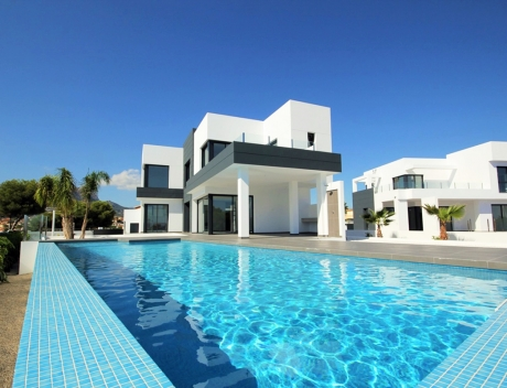 CHFi506: Great new villa in Calpe with sea views, close to the beach - Main
