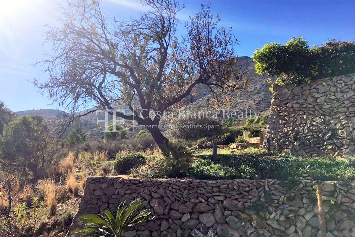 Wonderful finca with great panoramic sea views in Benissa - 10 - CHFi865