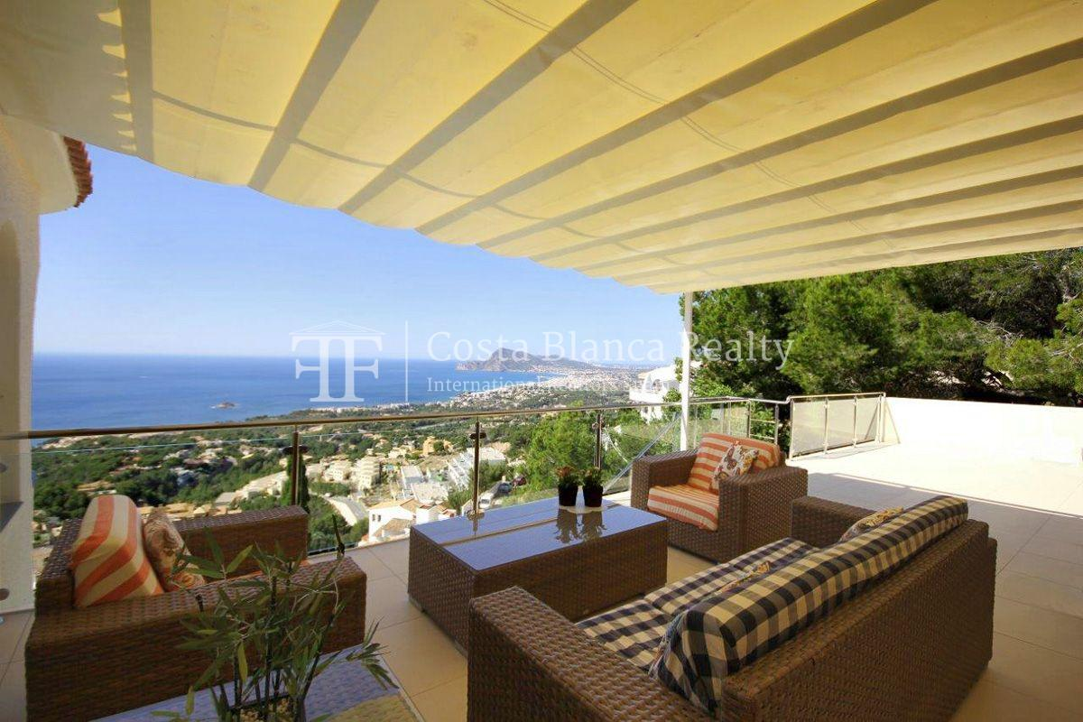 Beautifully renovated house / villa with sea views in Altea for sale, Sierra de Altea - 11 - FPAS105