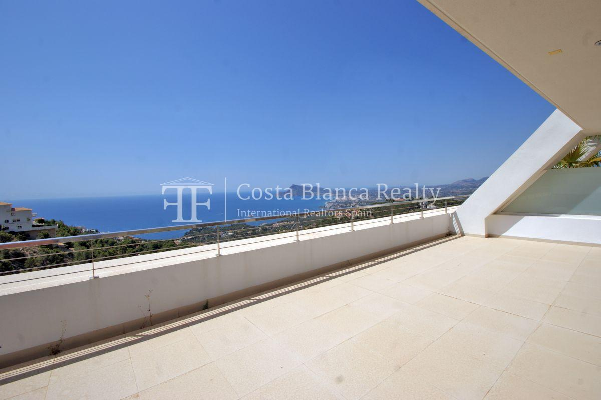 Nice modern apartment with fantastic sea views in Altea Hills for sale - 3 - CHFi828