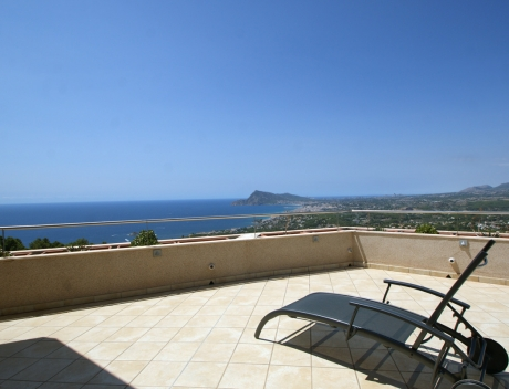 CHFi653: Duplex Penthouse Apartment for sale with great sea views in Altea, Villa Marina Golf - Main