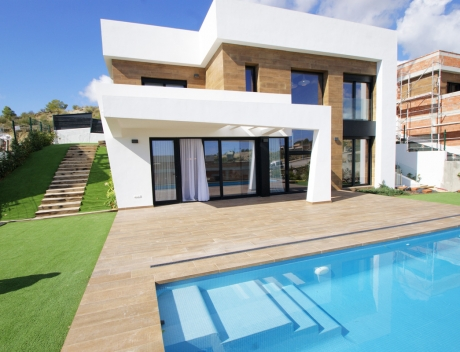 CHFi710: Modern new build villa with sea views for sale, Sierra Cortina, Finestrat - Main