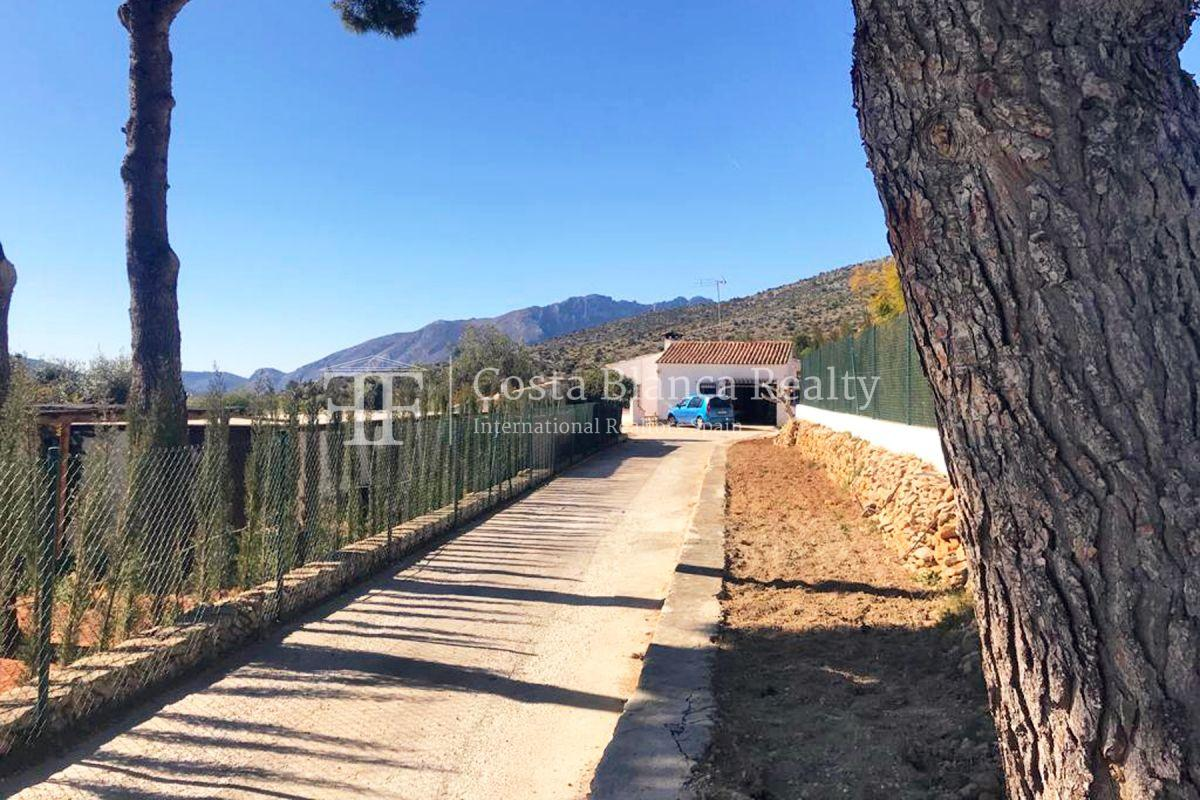 Wonderful finca with great panoramic sea views in Benissa - 35 - CHFi865