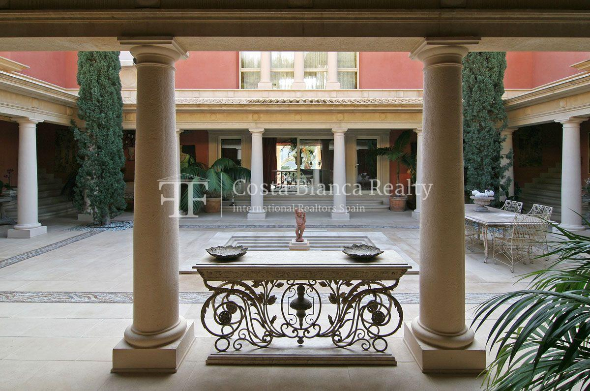 Beautiful villa in Roman style in Altea for sale, Sierra de Altea Golf - 11 - JOFi234