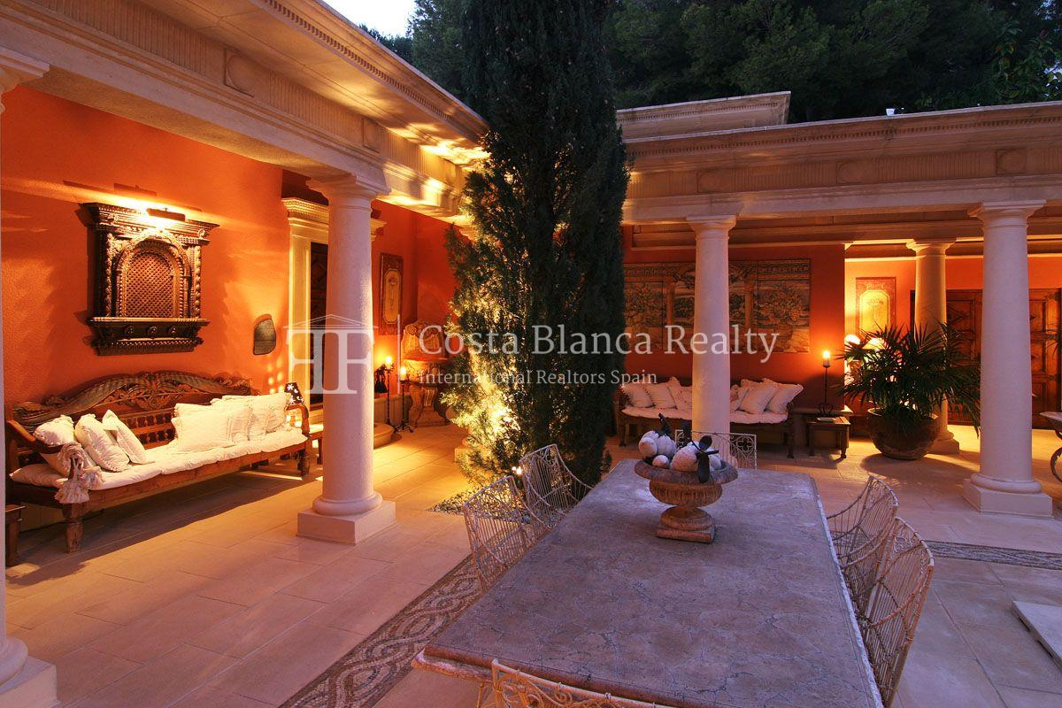 Beautiful villa in Roman style in Altea for sale, Sierra de Altea Golf - 13 - JOFi234