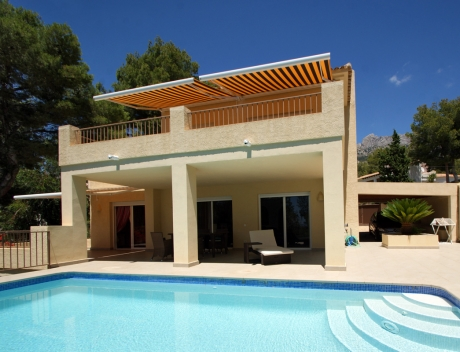 CHFi531: Modern house with sea and mountain views in El Paradiso, Altea la vella - Main