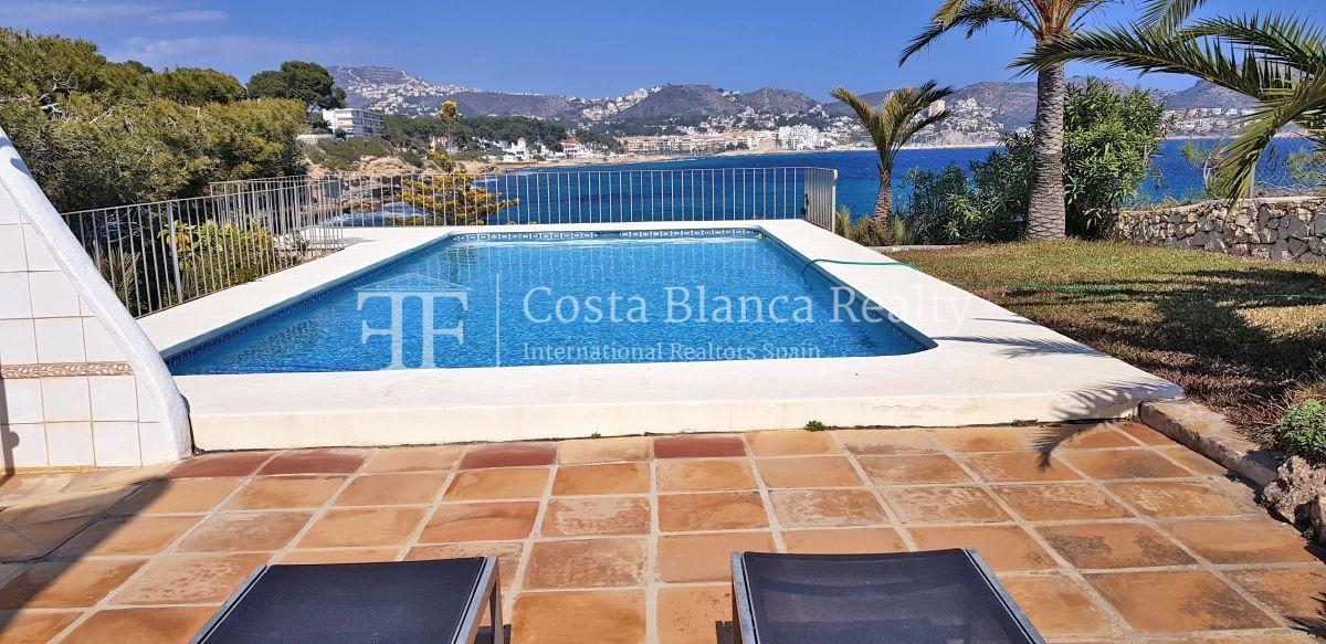 House for sale at first line in Moraira - 28 - CHFi780
