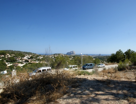 2 Building Plots with panoramic Views, Empedrola Calpe