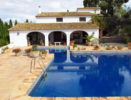 MORA106: Original fully renovated country house with guest house in Pedramala, Benissa - Main