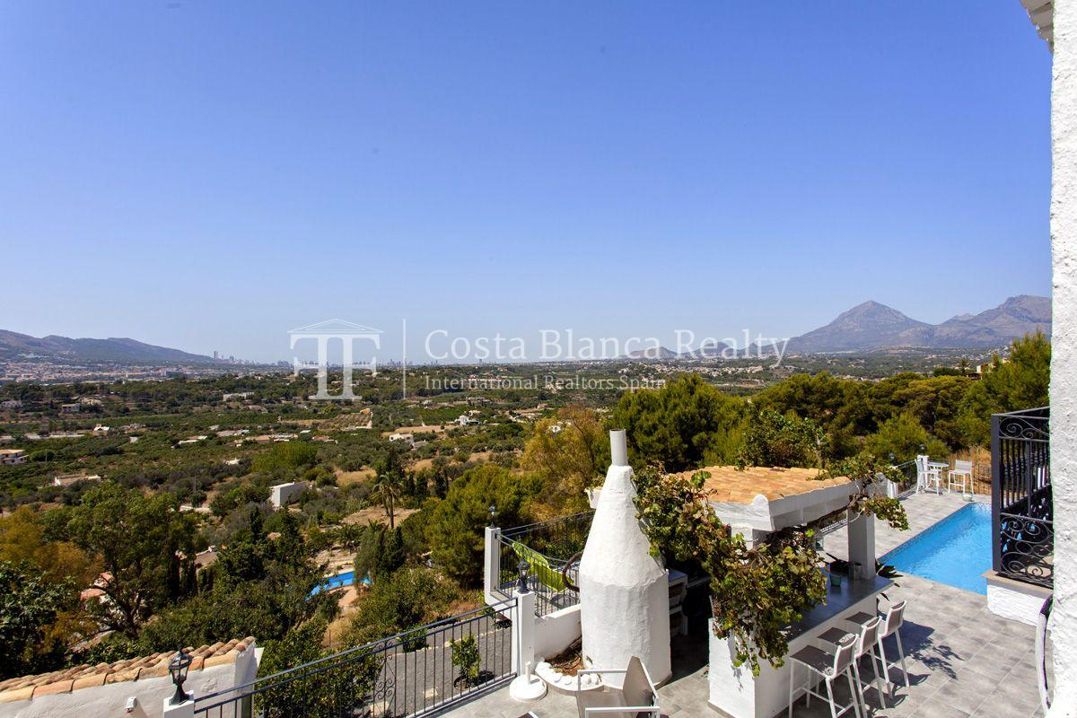 ++SOLD BY COSTABLANCA-REALTY.COM++ Villa for sale in San Chuchim in Ibiza style with panoramic sea views, Altea / Old Town - 3 - CHFi704